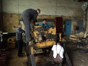 капитальный ремонт двигателя д160