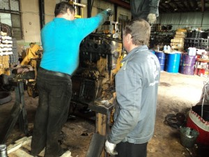 капитальный ремонт двигателя д180